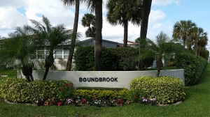 Entrance to Boundbrook